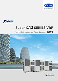 Carrier VRF rendszerek katalógus